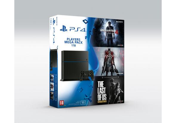 Buy Sony Playstation 4 1tb Mega Pack Bundle Online