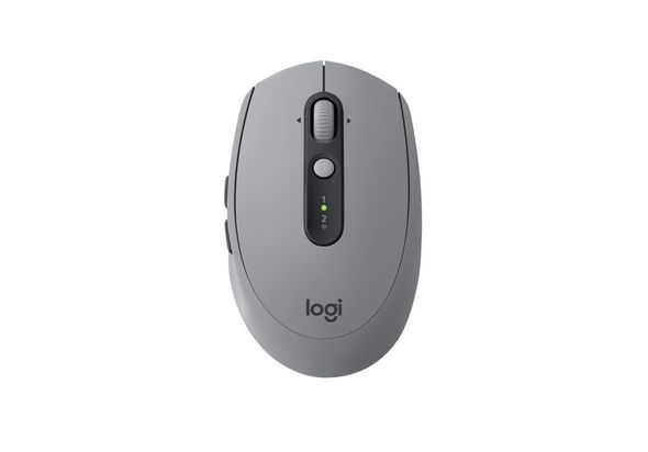 Logitech Wireless Mouse M590 Multi-Device Silent, Mid Grey