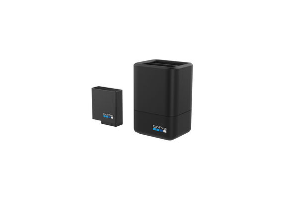 Go Pro Dual Battery Charger+ Battery HERO5, Black