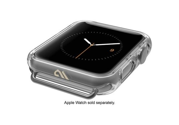 Case-Mate Naked Tough Bumper for Apple Watch 38mm, Clear