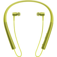 Sony In Wireless Bluetooth In-Ear Headphones, Lime Yellow