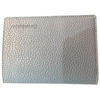 Bombata Genuine Leather Passport case, Charcoal