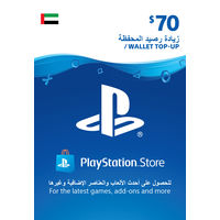 Sony Wallet top up 70 USD