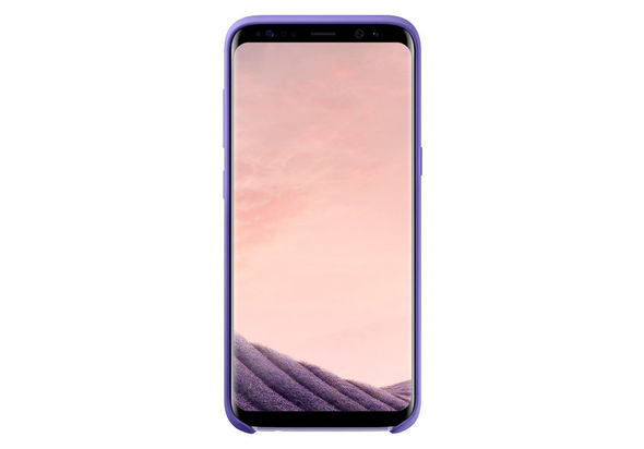 Samsung Galaxy S8 Silicone Cover, Violet