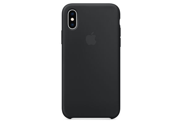 Apple iPhone XS Silicone Case,  Red