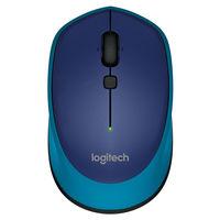 Logitech M335 Wireless Mouse, Blue