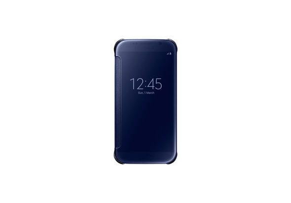 Samsung Galaxy S6 Clear View Cover, Black