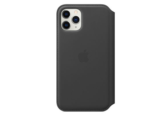 Apple iPhone 11 Pro Leather Folio, Black