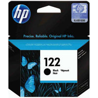HP 122 Black Original Ink Cartridge with HP 122 Tri-color