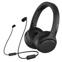 سوني WH-XB700سماعة الرأس اللاسلكية Bluetooth مع سماعة الأذن اللاسلكية WIC200 من سوني