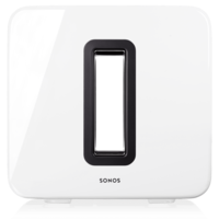 Sonos Sub Wireless Subwoofer, Gloss White