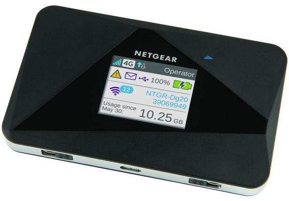 Netgear AC785-100EUS Aircard AC785 WiFi Mobile Broadband Hotspot with Super Fast 4G LTE