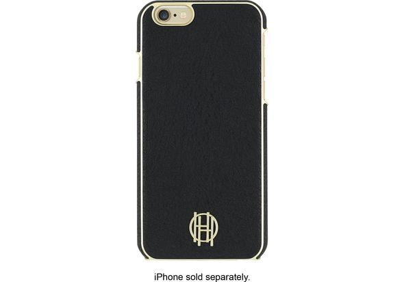 Incipio House of Harlow Hard Shell Case For Apple iPhone 6 and 6s, Black/Gold Metallic