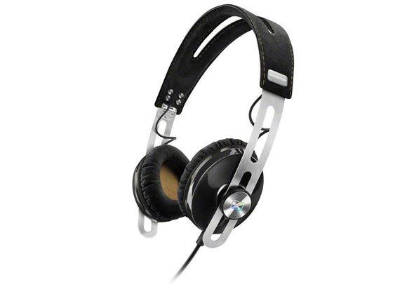 Sennheiser Momentum 2.0 On Ear Headphones for Apple, Black