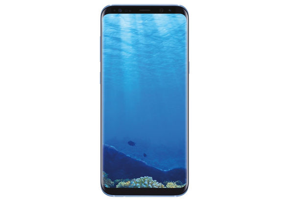 Samsung Galaxy S8+ Smartphone LTE, Coral Blue