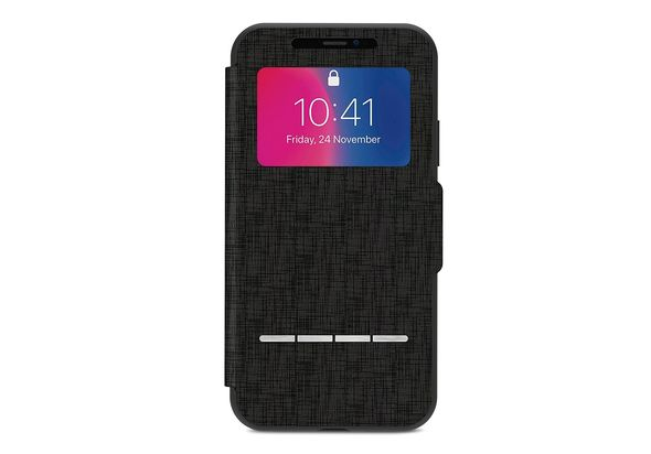 Moshi Sensecover for iPhone X, Metro Black