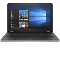 "HP 15-BS127NE i7 8GB, 1TB 15.6"" Laptop, Silver"