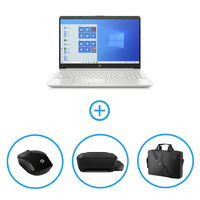 HP 15-DW2030NE i7 8GB, 1TB+ 128GB SSD NVIDIA® GeForce® MX130 2GB Graphic 15inch Laptop Bundle