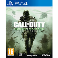 Call of Duty Modern Warfare Remastered for PS4