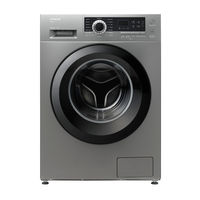 Hitachi BD70CE3CGXSL 7kg Front Loading Washing Machine, Silver