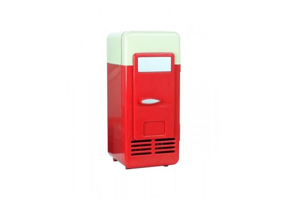 Satzuma USB Fridge, Red