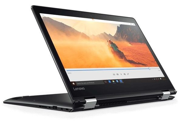 Lenovo Yoga 510 i5, 4GB, 1 TB 14  Laptop, Black