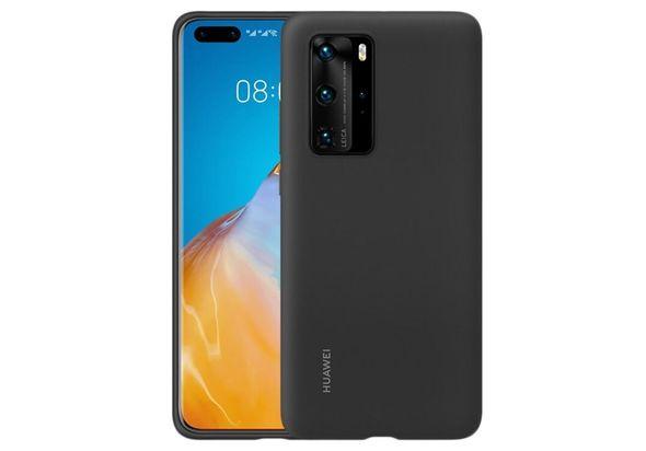 Huawei HUA-P40PRO-SIL-BLK Silicon Case Black