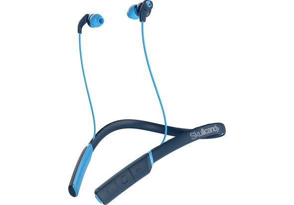Skullcandy Method In-Ear Wireless Headphones, Blue/Navy