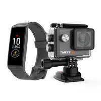 MyKronoz ZeFit 4 HR Activity and Heart Rate Tracker with 4k Action Camera