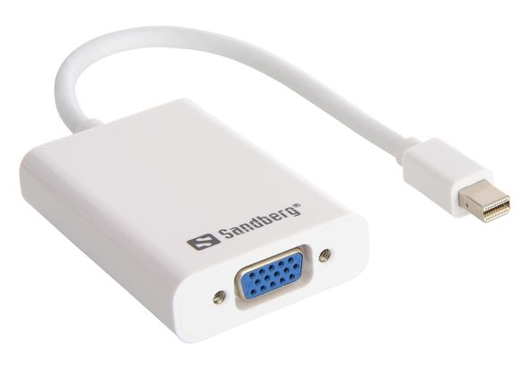 Sandberg Adapter MiniDP VGA+ Audio