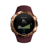 Suunto 5 Compact GPS Sports Watch,  Burgundy Copper