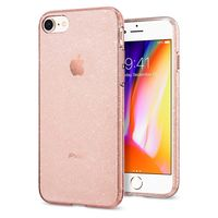 Spigen iPhone 8 Case Liquid Crystal Glitter, Rose Quartz