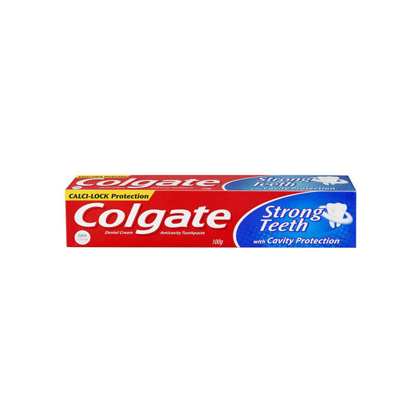 Colgate Strong Teeth Calci-Lock Toothpaste, 100 gm