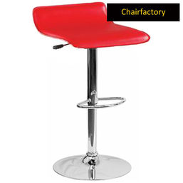 Lama Red Bar Stool, red