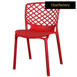 Venecy Robust Café Chair - Red