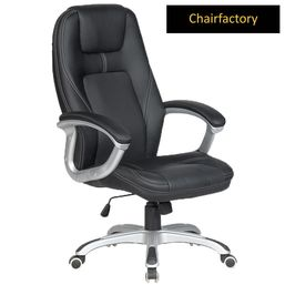 Trump Modern Leather Office Chair - High Back