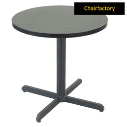Kendell Stainless Steel Cafetaria Round Table, 2  diameter laminated top