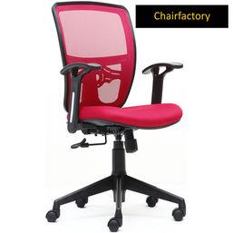 Smartdesk ECO MB Desk Staff Chair, maroon