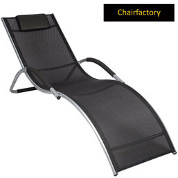Valley Outdoor Chaise Lounge With Head Cushion