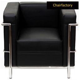 Replica Le Corbusier Petit One Seater Sofa, yellow