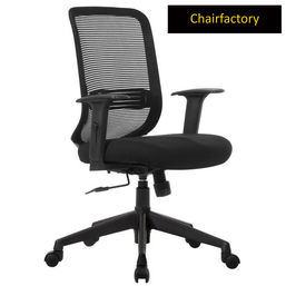 Mosker Mid Back LX Ergonomic Chair for Workplace - Black