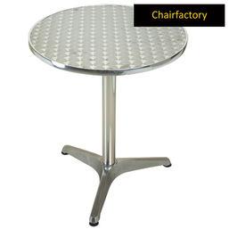 Oval Aluminium Outdoor Table - 80 cm, x