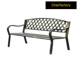 Jacob Cast Iron Outdoor Bench