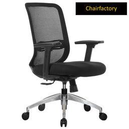 Mosker Mid Back ZX Ergonomic Chair - Black