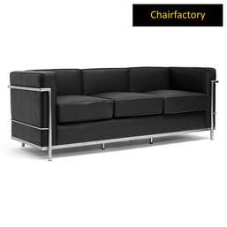 Le Corbusier Petit Comfort Replica Sofa - Three Seater, lavender