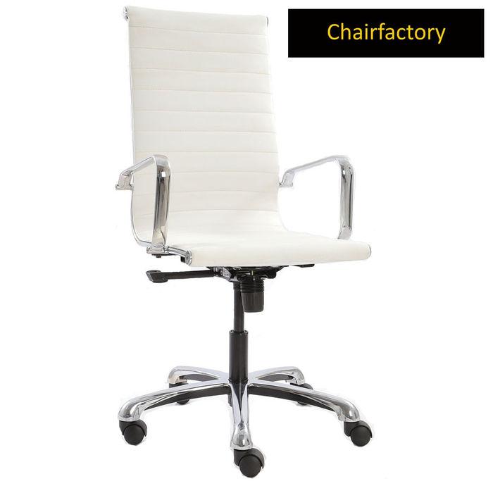 White Eames Group Chair LX HB Replica