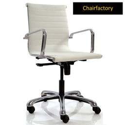 White Eames Group Chair LX MB Replica