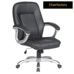 Trump Modern Leather Office Chair - Mid Back