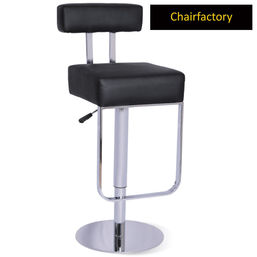 Pebble Contemporary Bar Stool, black