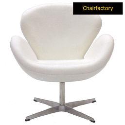 Arne Jacobsen White Swan Chair Replica